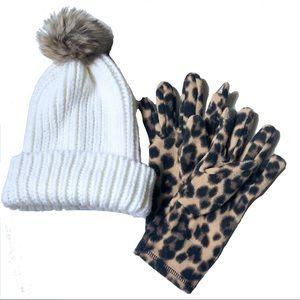 Old Navy Beanie & Gloves set